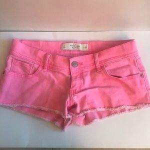 Hot Pink Abercrombie & Fitch Shorts